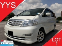 2006 TOYOTA ALPHARD REG 08 2.4 (A) G SPEC 7 SEATER MPV YEAR END PROMOTION PRICE.