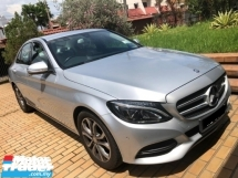 2015 MERCEDES-BENZ C-CLASS C200 2.0 CKD FULL SERVICE RECORD BY HAP SENG STAR ORIGINAL MILEAGE 18K KM MERCEDES BENZ MALAYSIA