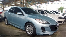 2013 MAZDA 3 CKD 1.6L SDN (GL) (A) NICE NUMBER 5222 BLACKLIST CAN APPLY