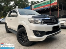 2014 TOYOTA FORTUNER 2.7V SPORTIVO(A)HIGH SPEC VERSION