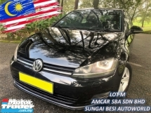 2014 VOLKSWAGEN GOLF 1.4 TSI (A) MK7 TURBO 1 OWNER SALE