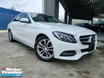 2014 MERCEDES-BENZ C-CLASS 2014 Mercedes C200 Avantgarde Keyless Pre Crash Blind Spot LKA Unregister for sale