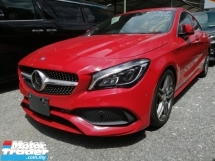2017 MERCEDES-BENZ CLA 180 1.6/FREE 5 YEARS WARRANTY/NEW READY STOCK/LIMITED COLOR