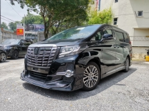 2015 TOYOTA ALPHARD 2.5 S A Full Loaded