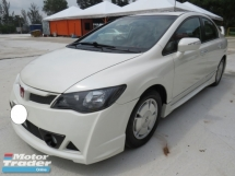 2012 HONDA CIVIC 1.3 (A) Hybrid One Owner Mugen RR Bodykit Full Leather Seat Accident Free High Loan Tip Top Condition Must View