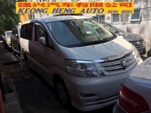 2007 TOYOTA ALPHARD 2.4 (A) Facelift Registered 2012