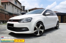 2012 VOLKSWAGEN POLO GTi 1.4 TSi (A) 3 Door (Ori Year Make 2012)(Limited Edition)(1 Owner)