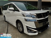 2018 TOYOTA VELLFIRE 3.5V L EDITION Sunroof Pre Crash LKA Modelista Bodykit Unreg Sale Offer