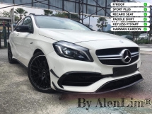 2016 MERCEDES-BENZ A45 AMG 2.0 TURBO FACELIFT (UNREG) FOC WRTY n SERVICE