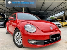 2014 VOLKSWAGEN BEETLE 1.2 TSI COUPE - UNDER WARRANTY - FULL SERVICE REC - TURBO ENGINE - FACELIFT - FULL LEATHER - PERFECT CONDITION - FULL LOAN - END YEAR SALE