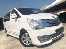 2017 HYUNDAI GRAND STAREX 2.5 ROYALE (A) PREMIUM FULL SPEC POWER DOOR