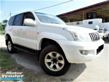 2005 TOYOTA LAND CRUISER  3.0 PRADO TURBO (A) 4WD