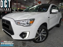 2017 MITSUBISHI ASX 2.0L 4WD FULL SPEC SUNROOF NAVI KEYLESS LEATHER SEAT LIKE NEW CAR