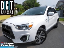 2017 MITSUBISHI ASX 2.0 (A) 4WD BUTTON FACELIFT SPORT RIM PANROOF PUSH START BUTTON NAVI PLAYER REVERSE CAMERA