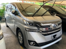 2016 TOYOTA VELLFIRE 2.5 X sunroof 8 seaters precrash system cruise control power door push start keyless entry unreg
