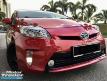 2014 TOYOTA PRIUS 1.8 LUXURY Hybrid Condition TIPTOP (A) 1JAM Lulus Promotion Bank