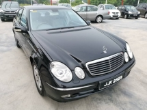 2005 MERCEDES-BENZ E-CLASS E240 2.6 (A) - One Careful Owner