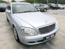 2003 MERCEDES-BENZ S-CLASS S280 2.8 (A) - Low Mileage