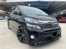 2012 TOYOTA VELLFIRE 2.4Z PLATINUM SELECTION