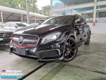 2014 MERCEDES-BENZ GLA 45 AMG 4MATIC EDTION 1 BLACK OFFER UNREG
