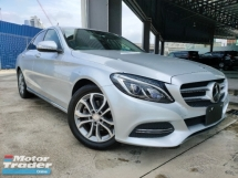 2014 MERCEDES-BENZ C-CLASS 2014 Mercedes C200 Avantgarde Pre Crash Blind Spot LKA Keyless Entry Unregister