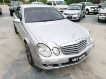 2008 MERCEDES-BENZ E-CLASS E200 1.8 (A) - Low Mileage