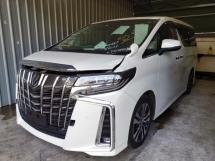 2018 TOYOTA ALPHARD Toyota Alphard 2.5 SC with pre crash and radar safety