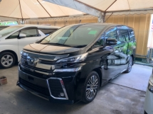 2015 TOYOTA VELLFIRE 2.5ZG surround camera precrash JBL theatre pilot seat sunroof power boot unregistered