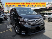 2010 TOYOTA VELLFIRE 2.4 Z Platinum TRUE YEAR MADE 2010 2 Power Doors Power Boot Nice Number 800