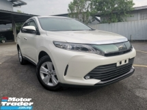 2017 TOYOTA HARRIER 2.0 ELEGANCE FACELIFT PANROOF ALPINE WHITE OFFER UNREG