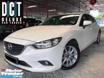 2015 MAZDA 6 2.0 (A) LEATHER SEAT REVERSE CAMERA PUSH START BUTTON LOW MILLEAGE ONE CAREFUL OWNER