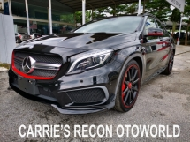 2014 MERCEDES-BENZ GLA 45 AMG 4MATIC - JAPAN SPEC UNREGISTERED (SPORTS EDITION)