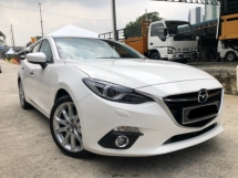 2017 MAZDA 3 2.0 GLS Sedan, Full Spec, 10k km mileage, Full Service, Service Booklet Mazda, Call Now
