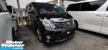 2014 TOYOTA ALPHARD 2.4 TYPE GOLD2 / OFFER / 5 YEARS WARRANTY UNLIMITED KM