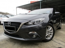 2015 MAZDA 3  2.0 Skyactiv (A) Full Services Record