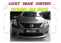 2012 NISSAN ALMERA 1.5 VL CTOS B/LIST CAN LOAN
