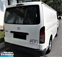 2015 TOYOTA HIACE 2.5 Panel (M) Condition Tiptop FulloanOTR LowMilage