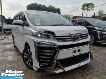 2018 TOYOTA VELLFIRE 2.5 ZG FULL SPEC JAPAN MODELISTA BODYKIT/SUNROOF/JBL/PRE CRASH/FULL LEATHER UNREG