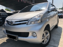 2013 TOYOTA AVANZA 1.5G,Full Service Record By Toyota,Original Paint,One Owner