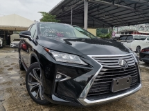 2016 LEXUS RX 200T 2.0 LUXURY SUV SUNROOF/POWER BOOT/SURROUND CAM UNREG
