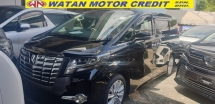 2016 TOYOTA ALPHARD 2.5 SA SUNROOF NO HIDDEN CHARGES