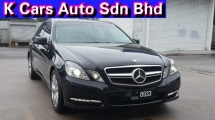 2013 MERCEDES-BENZ E-CLASS E250 CGI W212B AVANTGARDE (7G-TRONIC) Facelift (CKD) Original Mileage Original Paint Confirm Accident Free Worth Buy
