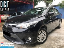 2017 TOYOTA VIOS 1.5G (AT) FACELIFT UNDER FULL SERVICE TOYOTA ONE OWNER LOW MILEAGE TIPTOP CONDITION