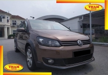 2012 VOLKSWAGEN TOURAN 1.4 (A)FREE 1YEAR WARRANTY GOOD CONDITION LOW MLEAGE LIKE NEW ACCIDENT FREE AND 1 CAREFUL OWNER