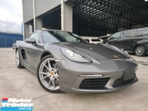 2017 PORSCHE CAYMAN 2017 PORSCHE CAYMAN 718 2.0 Facelift Sport Chrono Japan Spec Unregister for sale