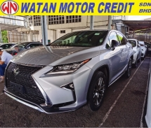 2016 LEXUS RX RX200T F SPORT RARE SILVER COLOUR 2016 JAPAN UNREG