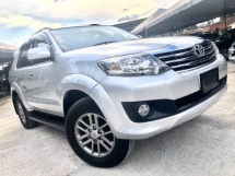 2015 TOYOTA FORTUNER 2.7 V (A) PETROL FACELIFT FULL SPEC 7 SEATER