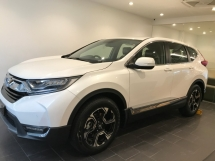 2019 HONDA CR-V CRV 2.0 CRV 1.5 VTEC Turbocharged 193hp Full-LED Lights Electrical Full Leathers Paddle Shift Steering Smart Entry Push Start Button 6 Air Bags Reverse Camera Automatic Power Boot Bluetooth Connectivity Honda Sensing