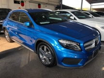 2014 MERCEDES-BENZ GLA GLA180 AMG Turbocharged 7G-DCT Distronic-PLUS Pre-Crash Automatic Power Boot Memory Bucket Seat Multi Function Paddle Shift Steering Intelligent Bi-Xenon Light Bluetooth Connectivity Unreg