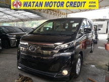 2015 TOYOTA VELLFIRE 2.5 X EDITION 8 SEATERS 360 CAMERAS INC SST JAPAN UNREG
